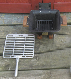 Mini Coal Grill with Grill Top