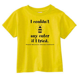 Bee Cute Toddler Shirts