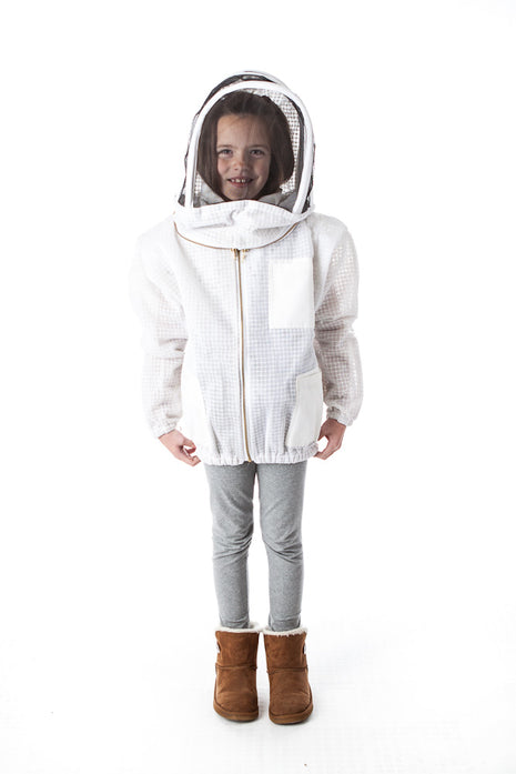 Ventilated Front Open Bee Jacket for Kids