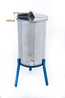 Three-Frame Honey Extractor with Stand