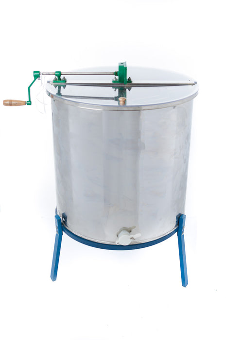 Six-Frame Honey Extractor with Stand