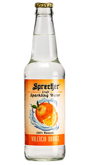 Valencia Orange Sparkling Water