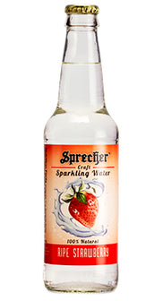 Ripe Strawberry Sparkling Water