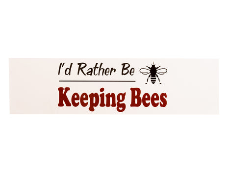 Rather Be Bumper Sticker