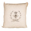 Simply French Pillow with Crown, Bee and Laurels