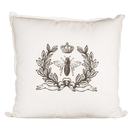 Simply French Pillow with Laurels