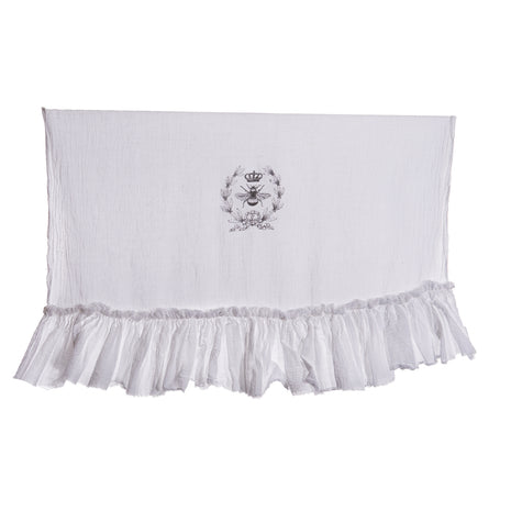 Simply French Towel with Crown, Bee and Laurels