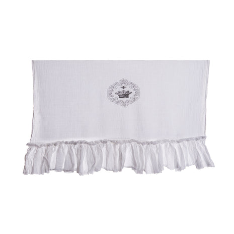 Simply French Towel with Crown