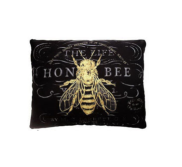 Vintage Bee Pillow