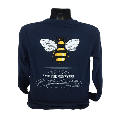 Save the Bee Swirl, Navy