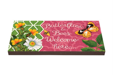 Butterflies and Bees Art Paver