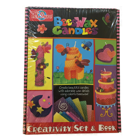 T. S. Shure Beeswax Candles Creativity Set & Book