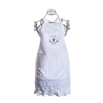 Simply French Apron with Queen Bee