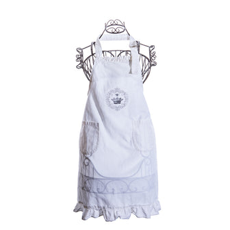 Simply French Apron with Crown