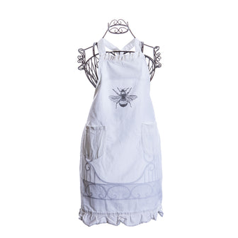Simply French Apron with Bee