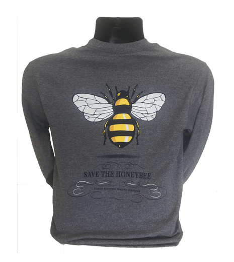 Save the Bee Swirl, Graphite Heather