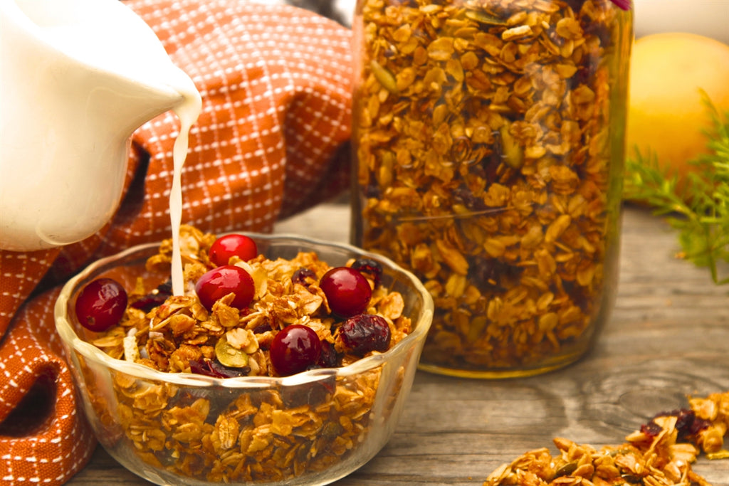 Orange and Cranberry Granola