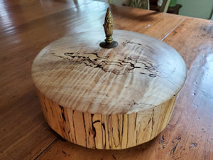 Center Table - Spalted Maple 12 Sided Box
