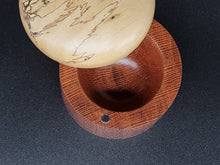 Load image into Gallery viewer, Lacewood and Spalted Tamarind Salt Box