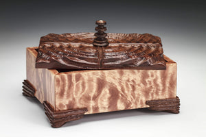 Hand Carved Claro Walnut
