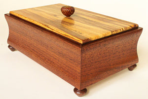 Walnut Box with Spalted Sycamore Top