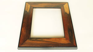 Brazilian Rosewood Veneer Frame with Ebony Trim