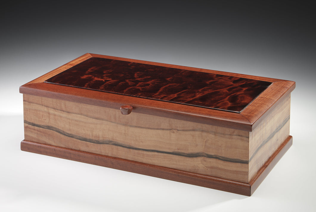 Jewelry Box Made from Tineo/Quilted Maple