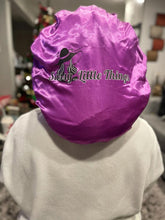 Load image into Gallery viewer, Purple Satin Bonnet