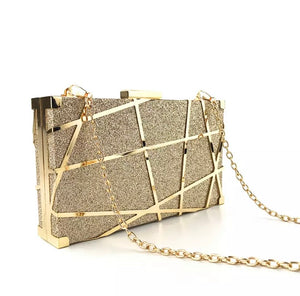 Gold Sophisticated Evening Clutch