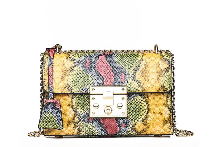 The Wildly-Beautiful Bag in yellow
