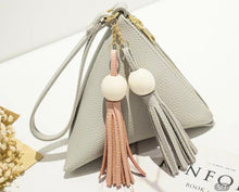 Load image into Gallery viewer, Signature Triangular Wristlet