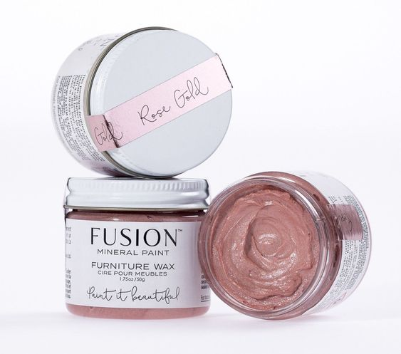 Furniture Wax – Rose Gold
