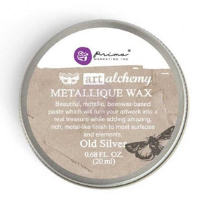 Finnabair Metallique Wax - Old Silver