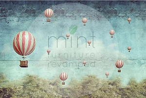 MINT Decoupage Papers - Balloons