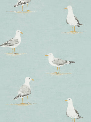 Sanderson Shore Birds wallpaper in Sky / metre