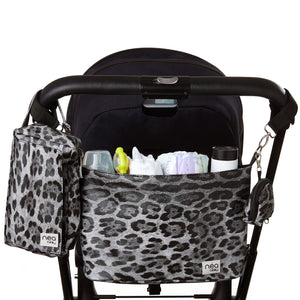 Stroller Organizer with Wipes and Diapers Case Set