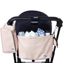 Load image into Gallery viewer, Stroller Organizer with Wipes and Diapers Case Set