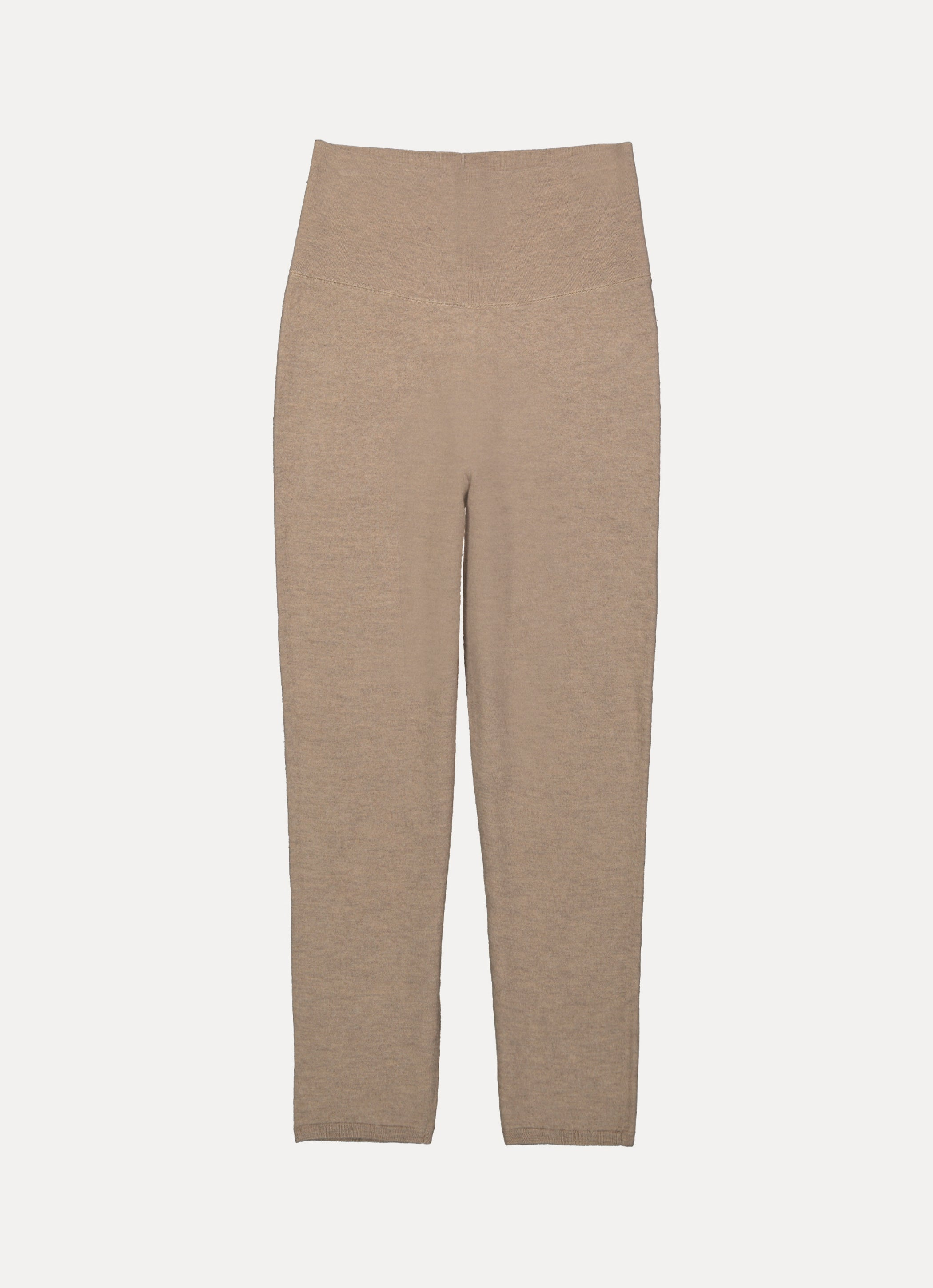 Something Navy Mikayla Wool Blend Cigarette Trousers Camel