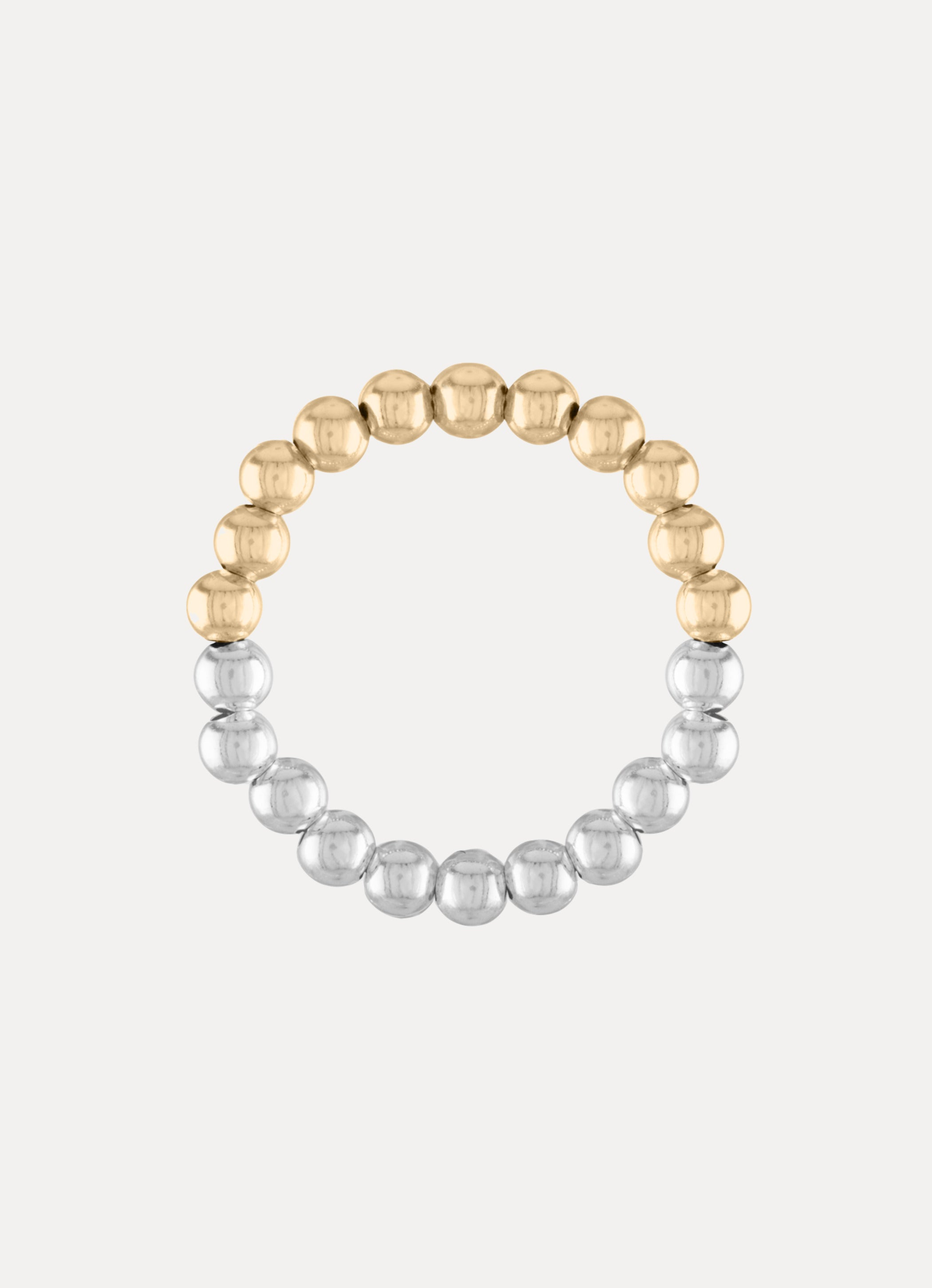 Two Tone Ball Ring