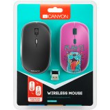 CANYON 2.4GHz wireless Optical  Mouse with 4 buttons - volkanoshop