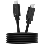 CANYON UC-9 Type C USB3.1 standard cable, PD3.0 100W, with full feature(video, audio, data transmission and PD charging), OD 4.8mm, cable length 1m, Black, 13*9*1000mm, 0.043kg - volkanoshop