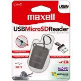 Maxell USB Micro-SD Reader - volkanoshop