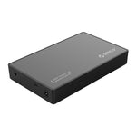 Orico 2.5|3.5 USB-C External HDD Enclosure - Black - volkanoshop
