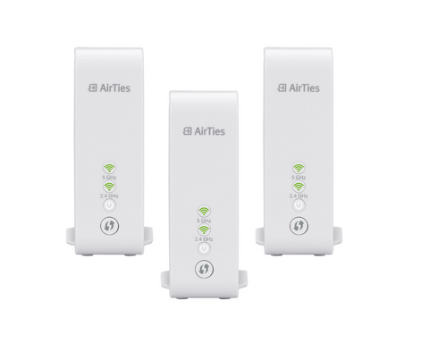 Airties 4930 Home Wifi Mesh Triple pack - volkanoshop