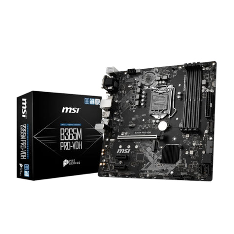 MSI INT B365M 4XDDR4 1XM.2 NVME ML - volkanoshop