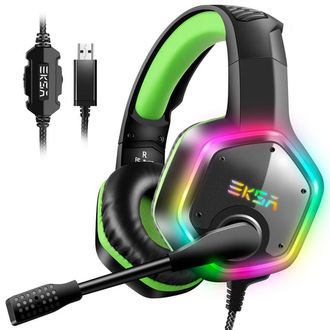 EKSA E1000  7.1 Surround Sound  Gaming headphones - volkanoshop