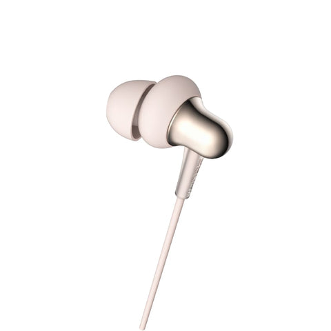 1MORE Stylish E1025 Dual-Dynamic Driver 3.5mm In-Ear Headphones - Gold - volkanoshop