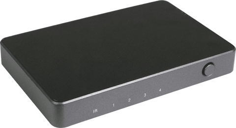 HDCVT 4x1 HDMI 2.0 Switch with Audio - volkanoshop