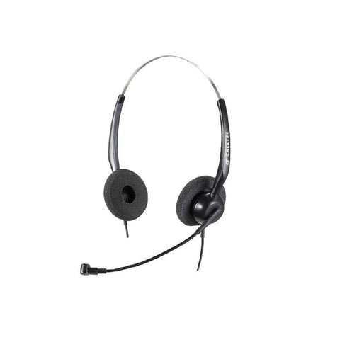 Calltel H550 Stereo-Ear Noise-Cancelling Headset + UC2000T Quick Disconnect USB Sound Card Adapter Cable - volkanoshop