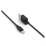 Ravpower USB to Lightning 3 Pack 1x 0.6m|1x 1m|1x 2m Cable - Black - volkanoshop